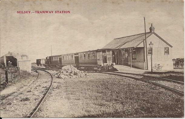 Selsey ST postcard