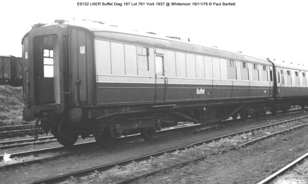 E9132 LNER Buffet @ Whitemoor 76-11-16 ´+¢ Paul Bartlett w