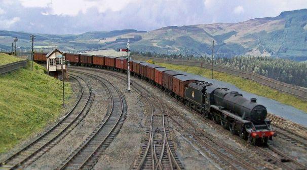 Black 5 heading south